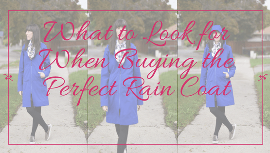 The Perfect Rain Coat | Fashion