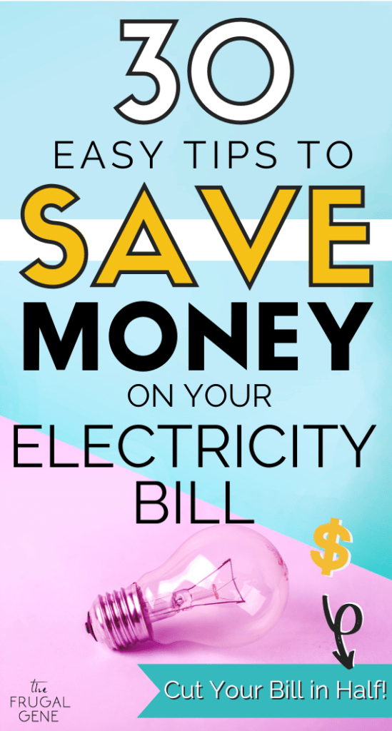 My family use these tricks & tips to save + lower our power bills!! - Wondering why your #utility bill at home/apartment is so high? Here's 30 easy, proven tips to save money on your electric bill FAST! Save extra cash #savingmoney #electricbill These frugal living saving tips have been proven for decades. Learn them & save more money. #frugal ideas to save money in your home or apartment #savemoremoney #moneytips #budgetingtips simple tips, hacks to help you save #moneysavingtips #thefrugalgene