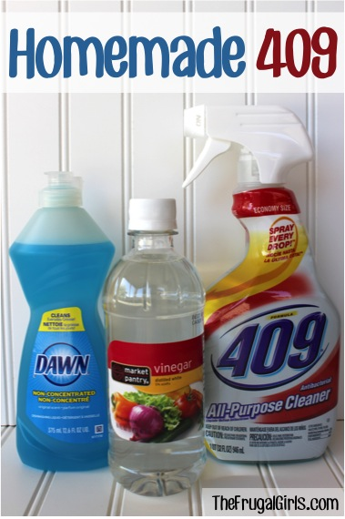 Homemade 409 Cleaner Recipe You Need to Try from TheFrugalGirls.com