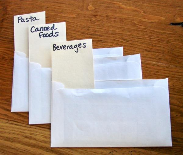 coupon organizer categories diy