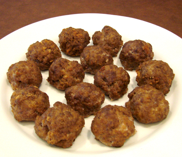 Meatballs Without Milk Recipe