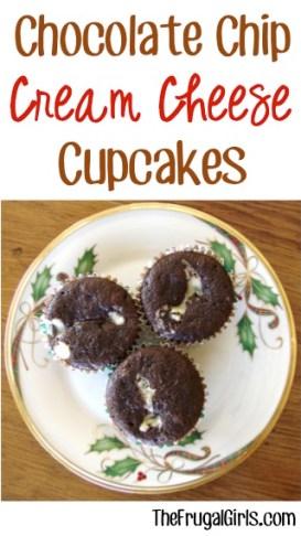 Chocolate Chip Cream Cheese Recipe - from TheFrugalGirls.com