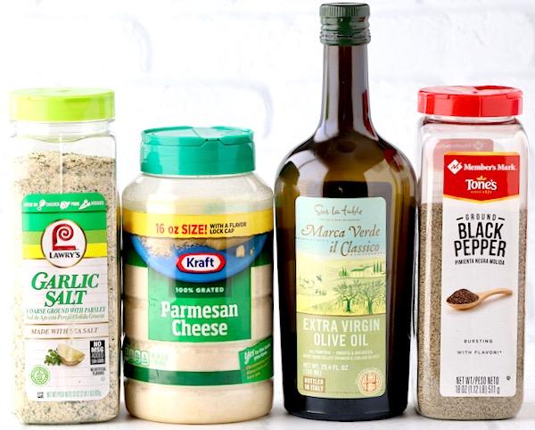 Garlic Parmesan Potato Wedges Recipe