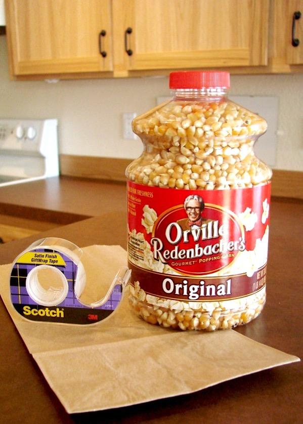 Homemade Microwave Popcorn Recipe Easy
