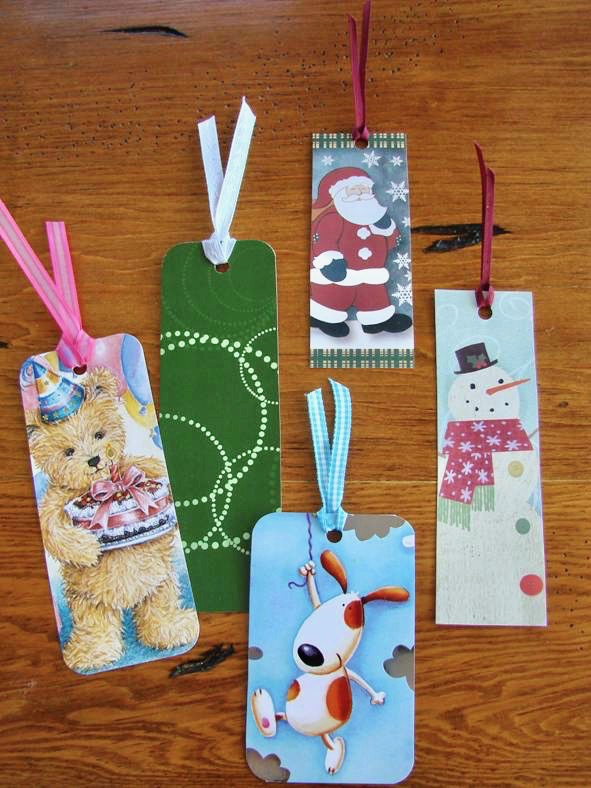 Homemade Bookmarks Craft