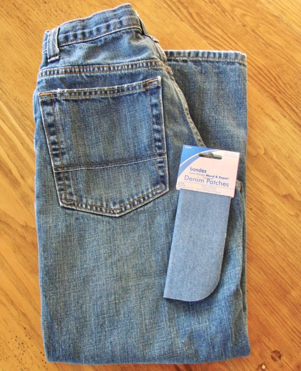 How To Prevent Knee Holes in Jeans with Patch