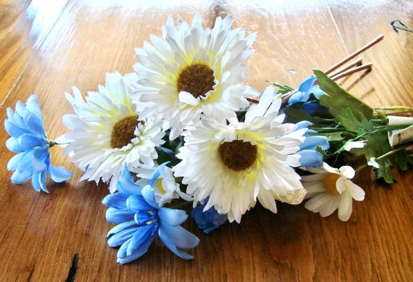 DIY Flower Flip Flops