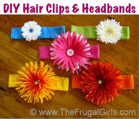 How To Make Cute Flower Headbands for Babies and Little Girls