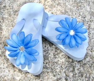 How to Make Flower Flip Flops Tutorial