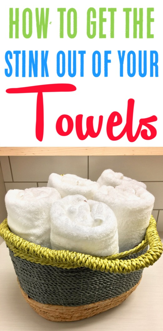 How to Get Stink Out of Towels - This Easy Trick Removes Mildew Smell