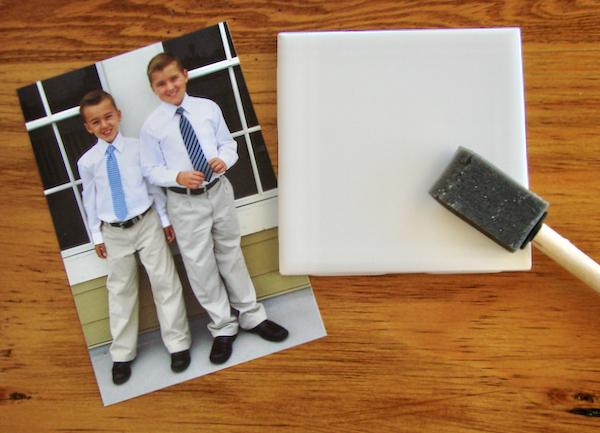 DIY Photo Coasters Waterproof