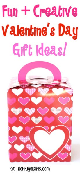 Fun and Creative Valentine's Day Gift Ideas at TheFrugalGirls.com