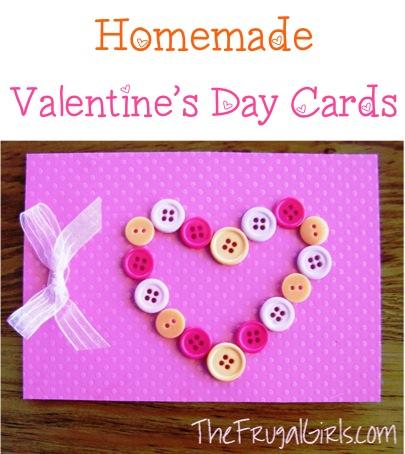 Homemade Valentine Cards + Fun Love Note Ideas!