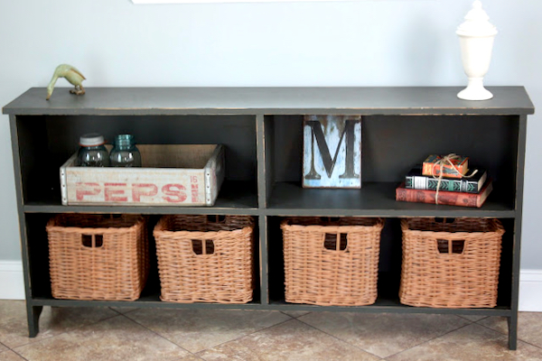 DIY Laundry Mud Room Storage