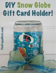 DIY Snow-Globe-Gift-Card-Holder