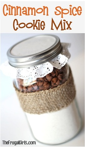 Cinnamon Spice Cookie Mix in a Jar