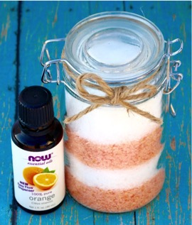 Orange Vanilla Bath Salts Recipe