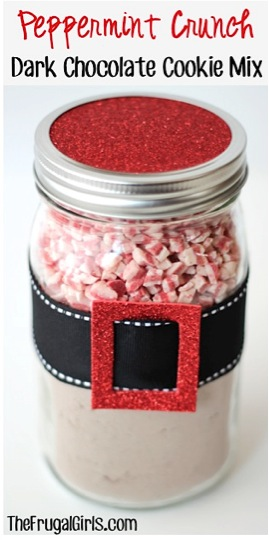 Peppermint Crunch Dark Chocolate Cookie Mix