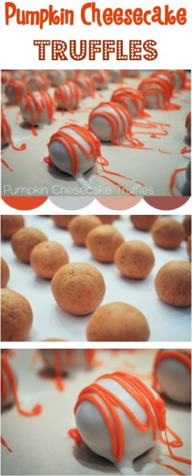 Pumpkin Cheesecake Truffles Recipe