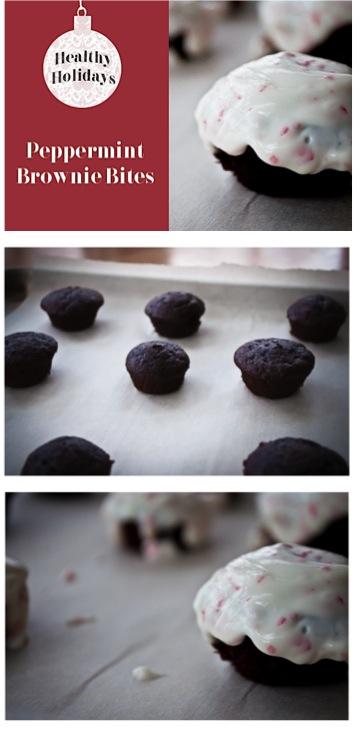 Peppermint Brownie Bites Recipe