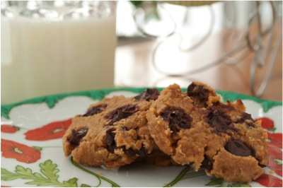 Chickpea Chocolate Chip Cookies Dessert Recipe