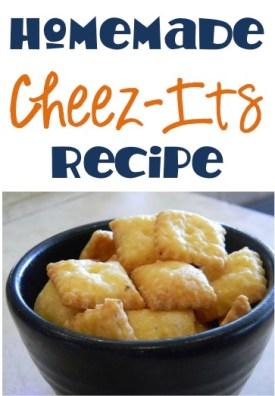 Homemade Cheez-It Recipe