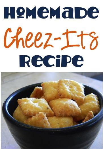 Homemade Cheez Its Recipe at TheFrugalGirls.com