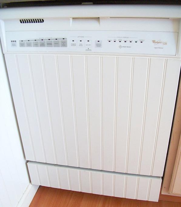 DIY Dishwasher Facelift on a Budget