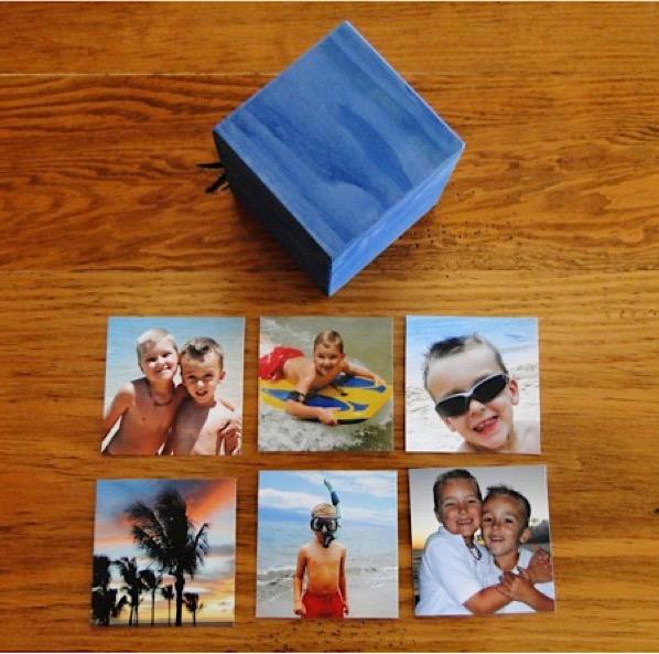 DIY Photo Cube Easy