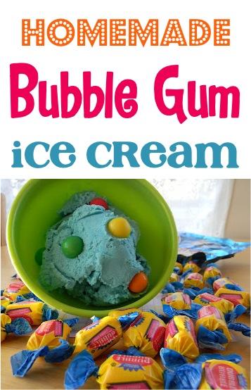 Bubble Gum Ice Cream Recipe