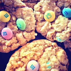 Oatmeal M&M Cookie Recipe