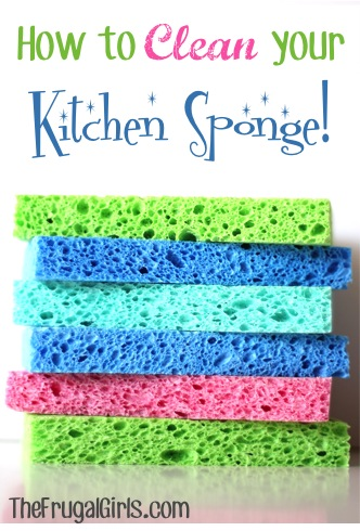How to Clean Kitchen Sponges