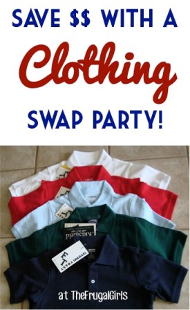 Clothing Swap Party Tip