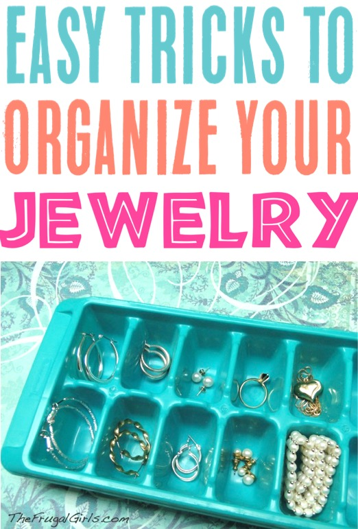 Jewelry Organizer DIY Drawer Organizers for your rings, bracelets, earrings and accessories