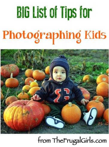 Kid Photo Taking Tips