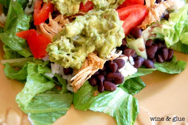 Copycat Qdoba Taco Salad Recipe