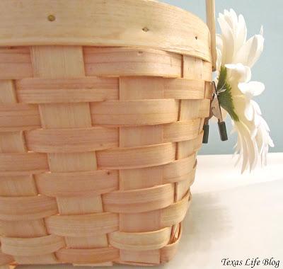 Easy Flower Basket Craft Project