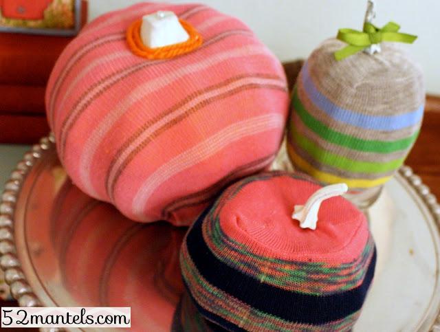Fall Sock Crafts