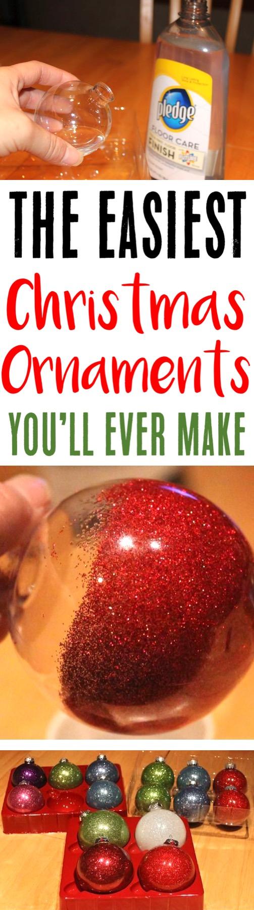 Christmas Ornaments Homemade DIY Ornament Craft for Kids