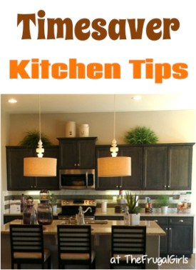 Favorite Kitchen Time-Saver Tips