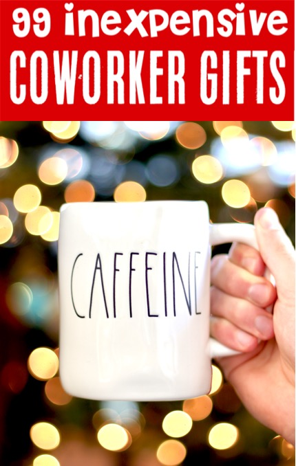 Gifts for Coworkers - Inexpensive Christmas Gifts