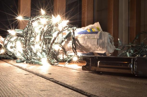 Christmas Lights Glow Photography Tips