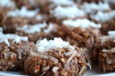 No Bake Almond Joy Cookie Recipe
