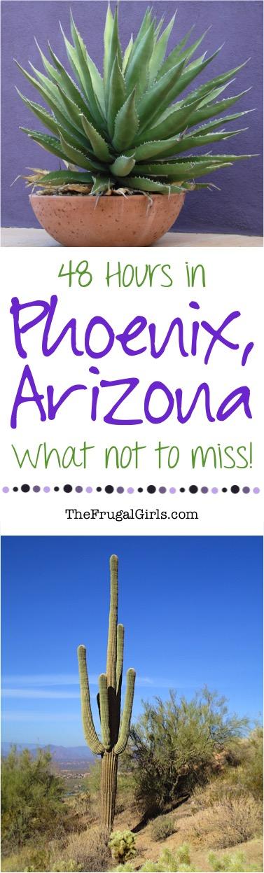Phoenix Arizona Best Travel Tips from TheFrugalGirls.com