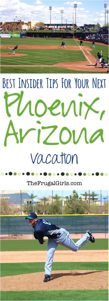 Phoenix Arizona Travel Tips from TheFrugalGirls.com