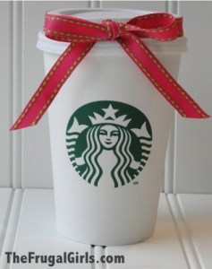 Starbucks Coffee Gift Card Holder Ideas