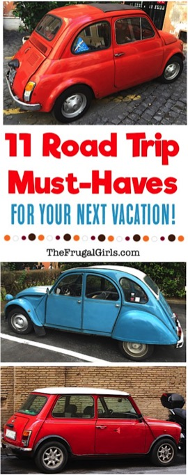 11 Road Trip Must Haves for your next Vacation