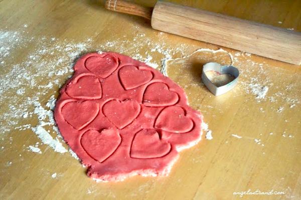 Cherry Jello Cookies