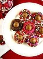 Chocolate Valentine Kiss Cookies Recipe