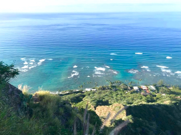 Diamond Head Hike View